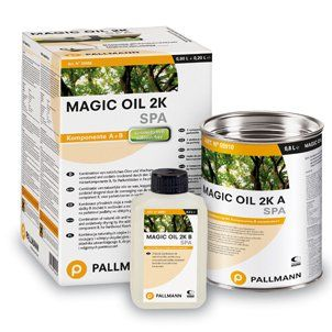Pallmann Magic Oil 2-K SPA - 2K Паркетное масло